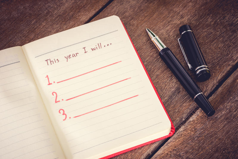 One set of resolutions for yourself and business